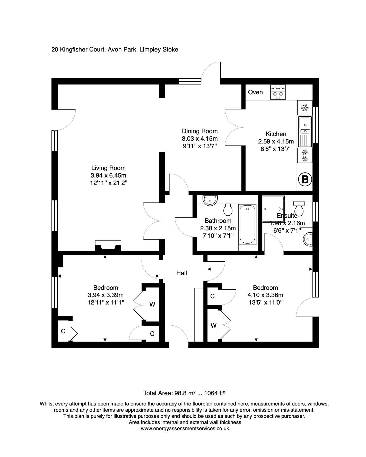 20 Kingfisher Court Floorplan
