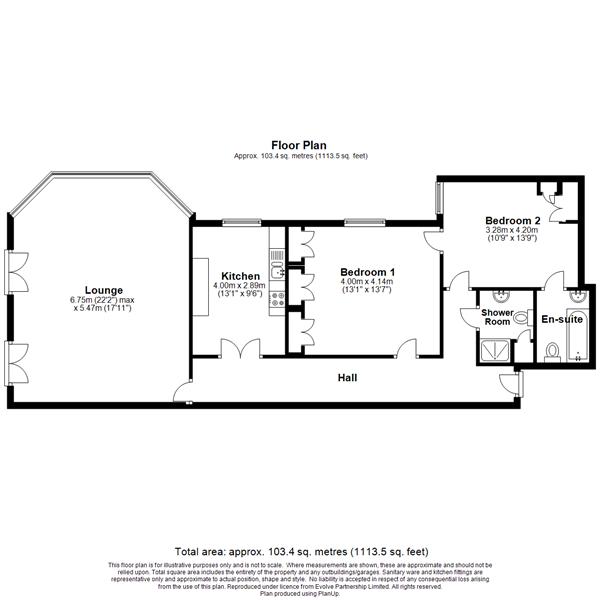 8 The Priory Floorplan