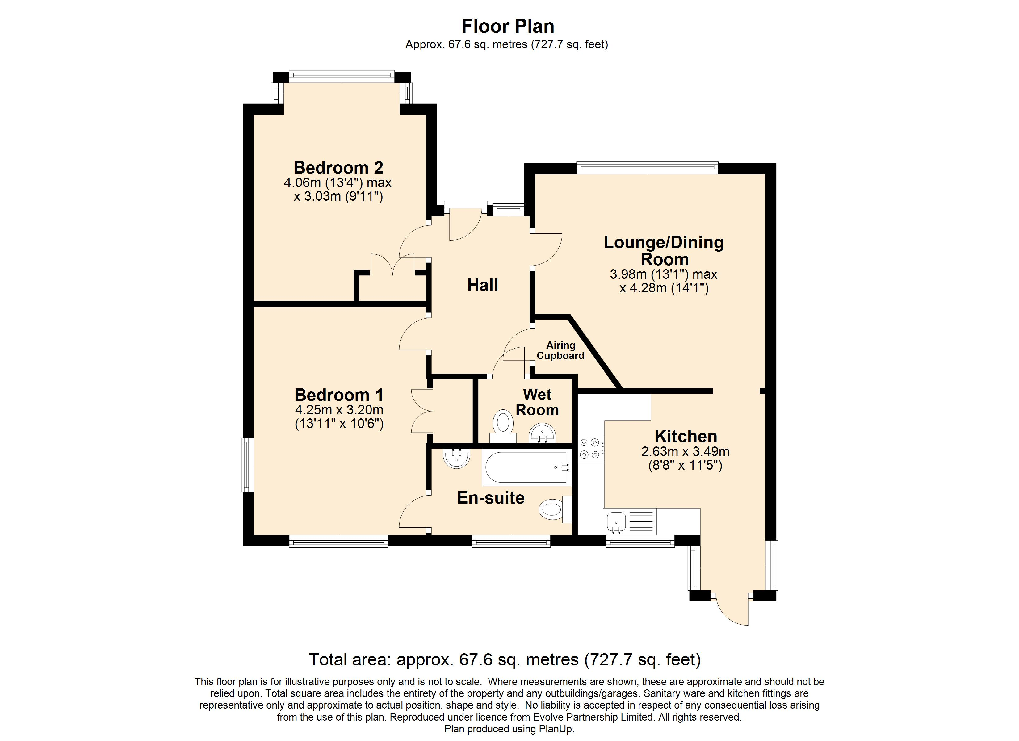 4 The Paddocks Floorplan