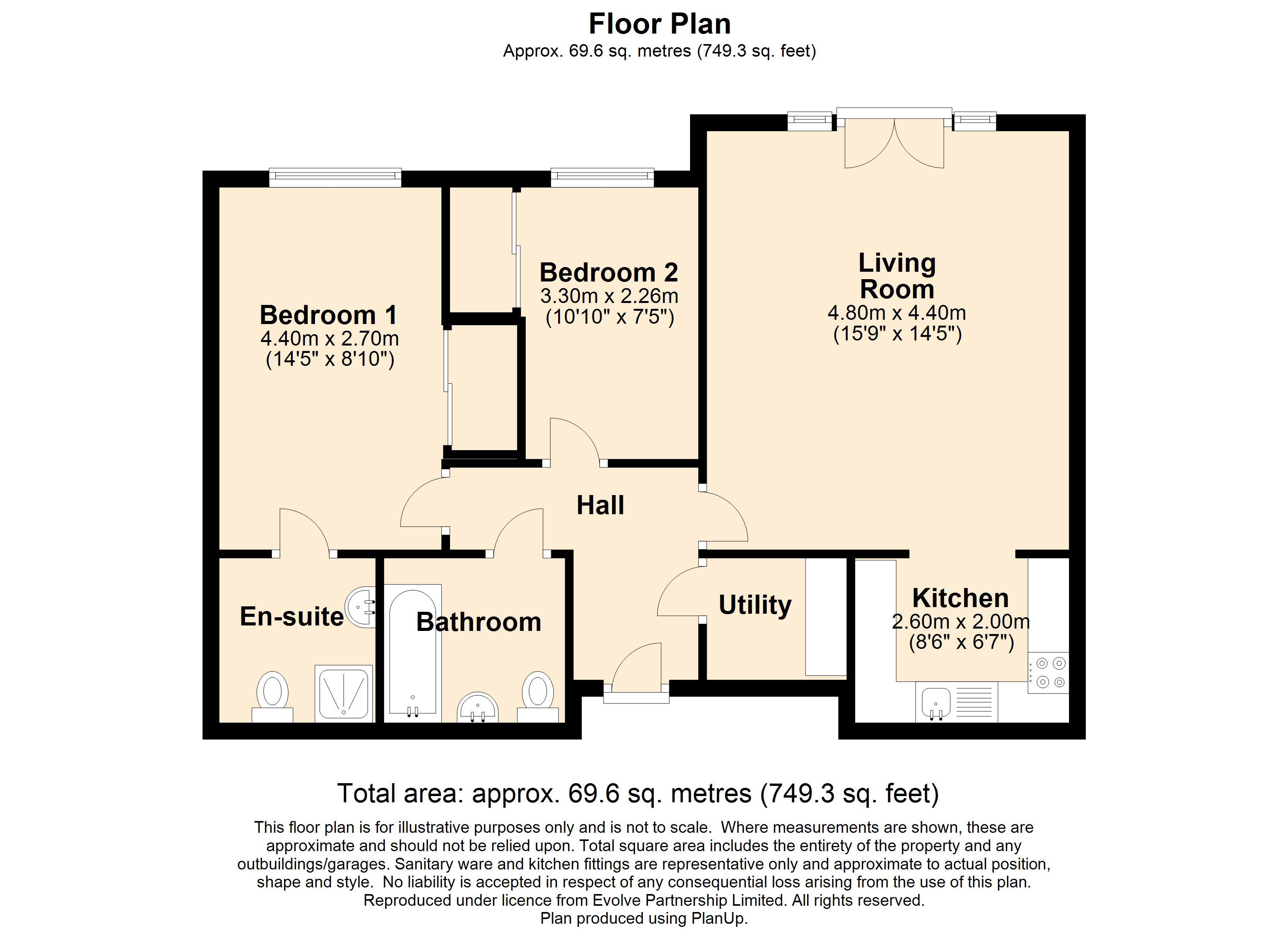 14 Wildwood Court Floorplan