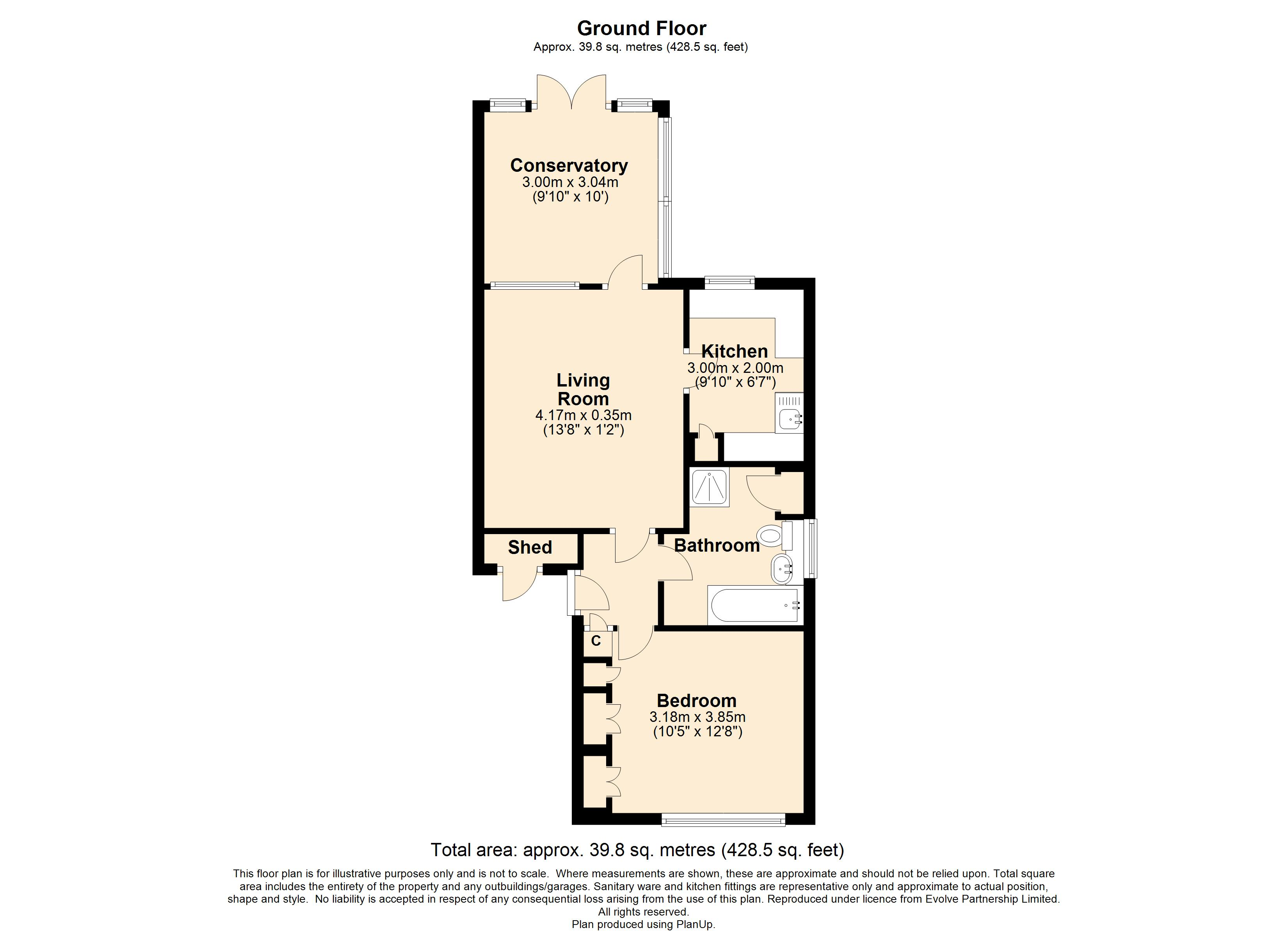 18 Jackson Close Floorplan