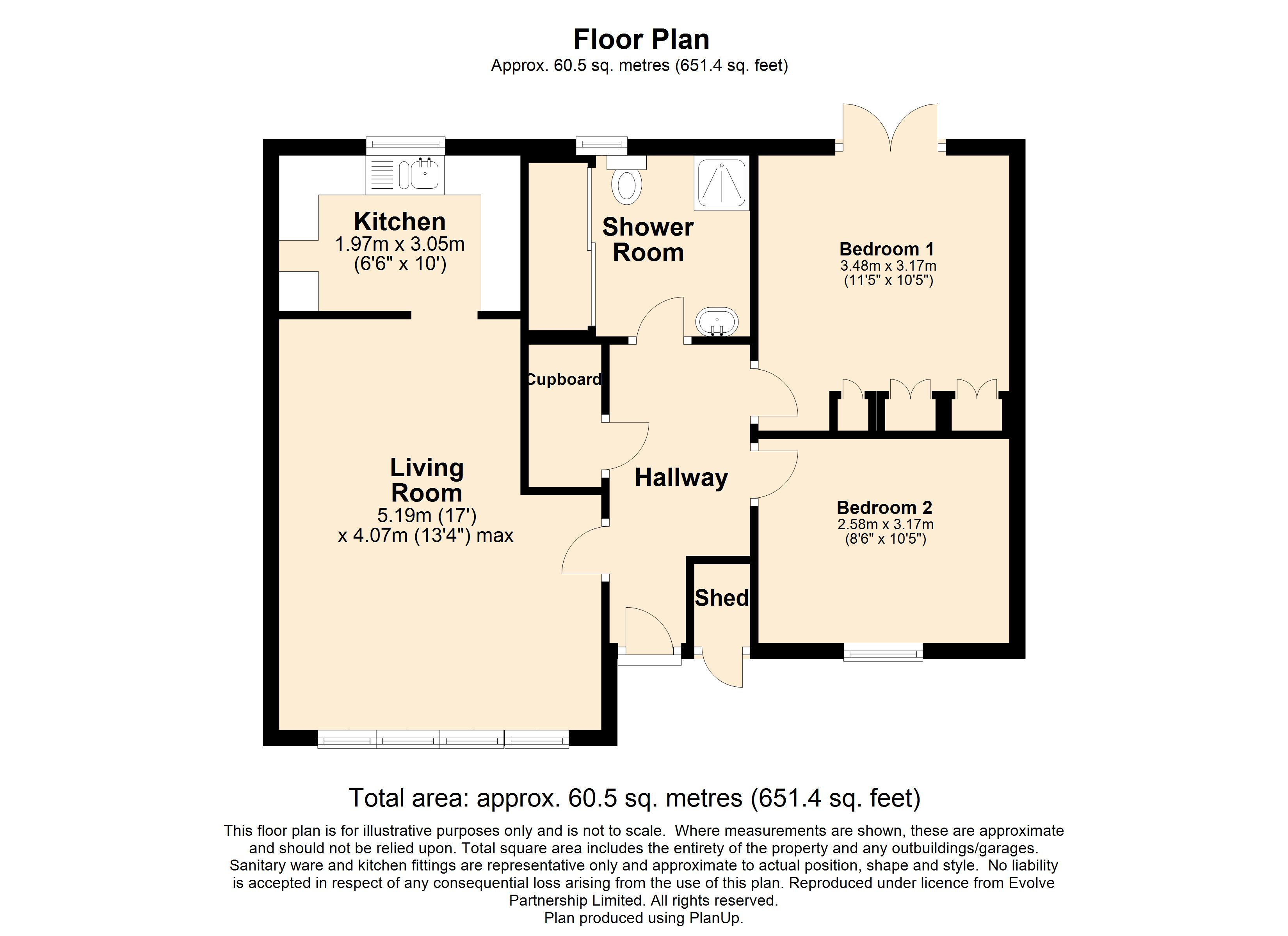 18 Day Court Floorplan