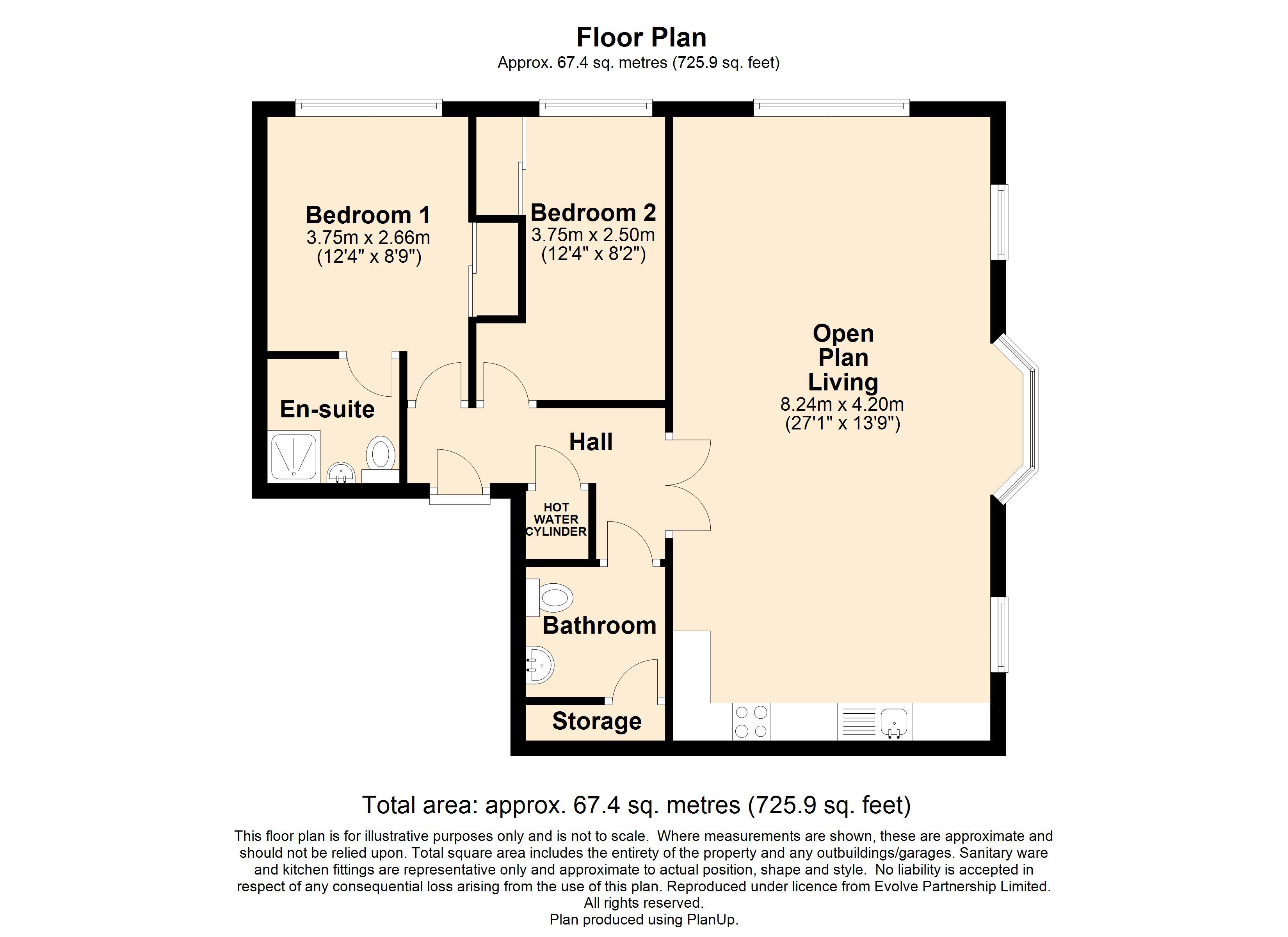 7 Salemorton Court Floorplan