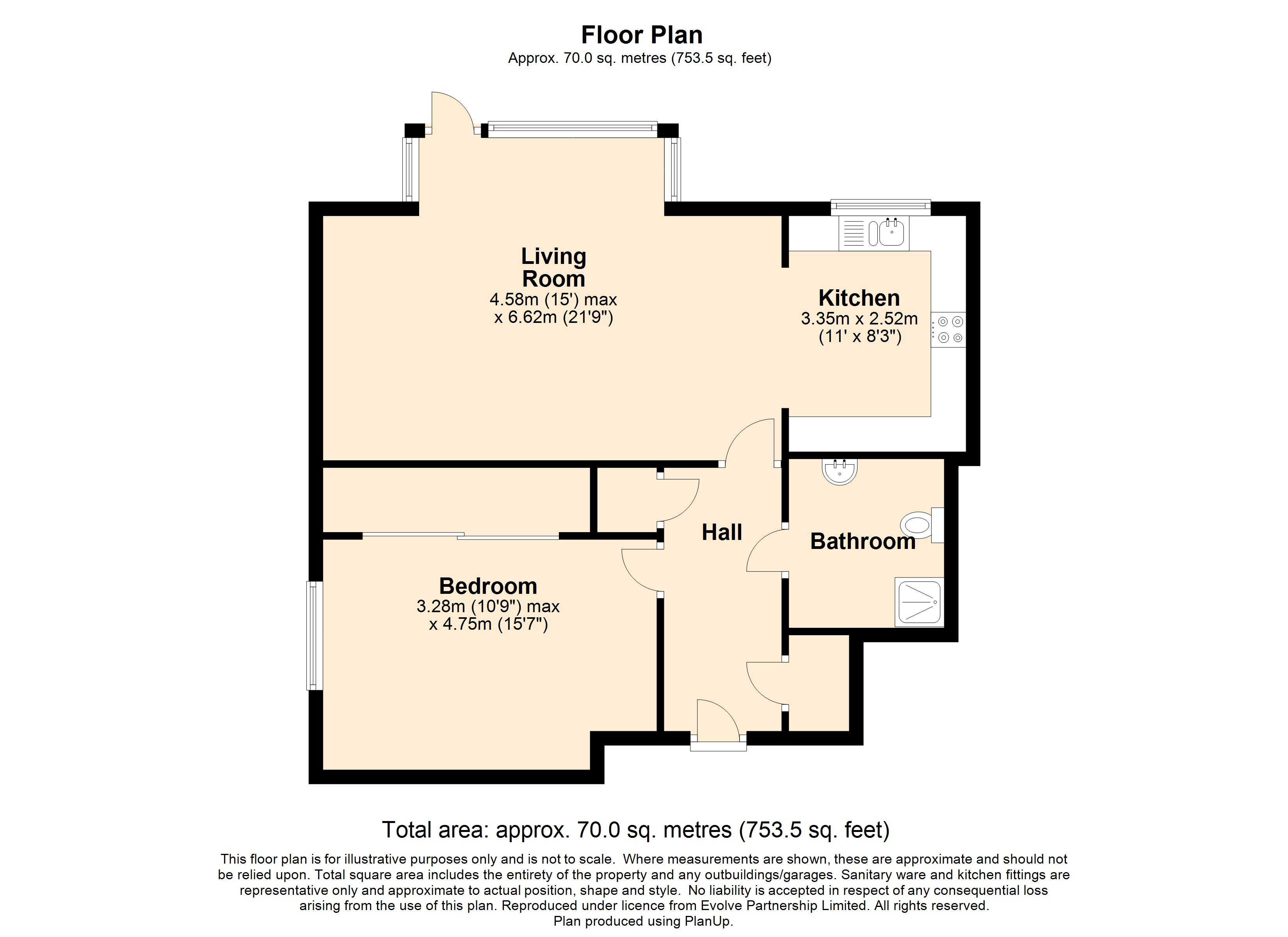 14 Medway House Floorplan