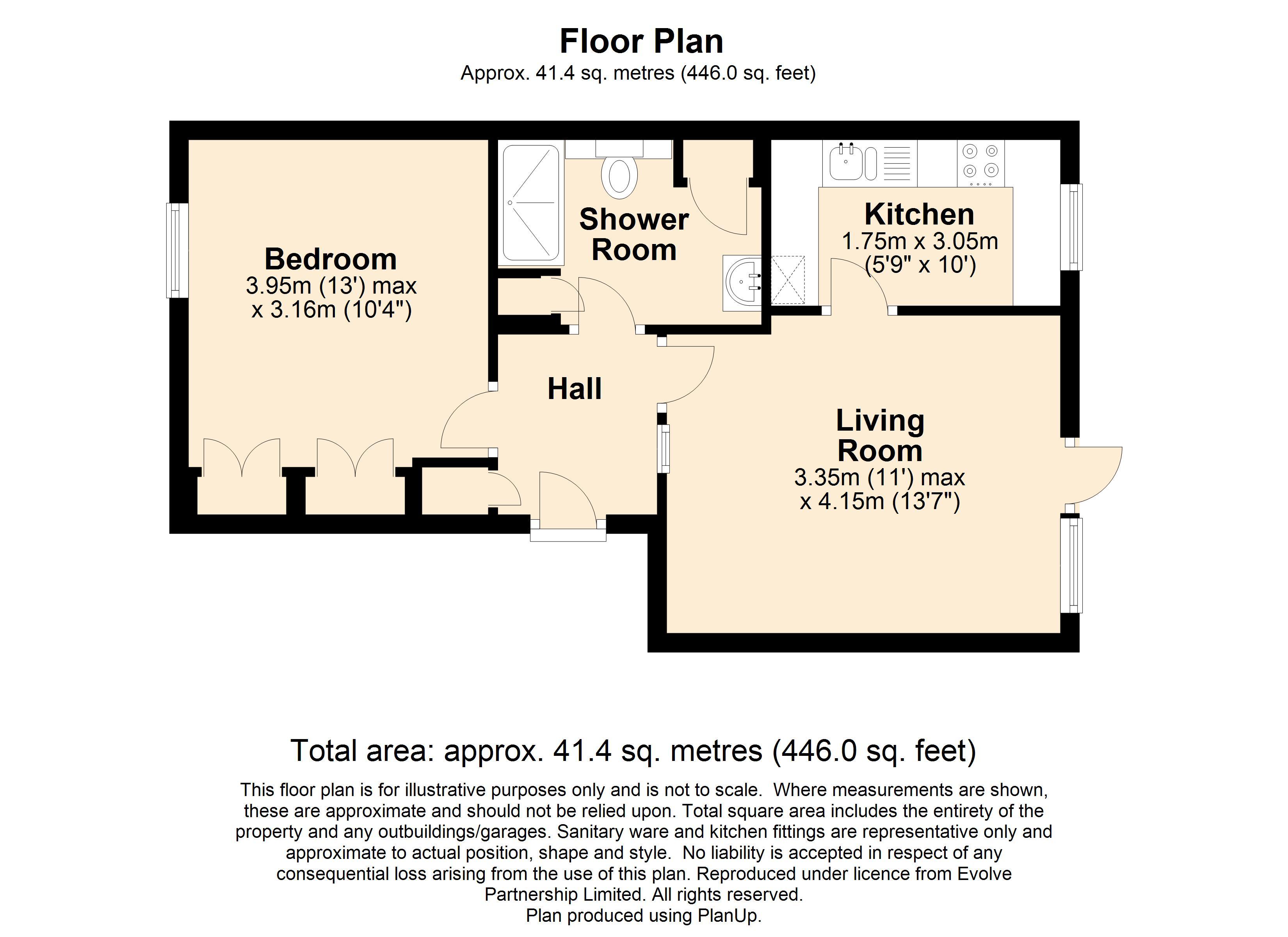 17 Abbey Close Floorplan