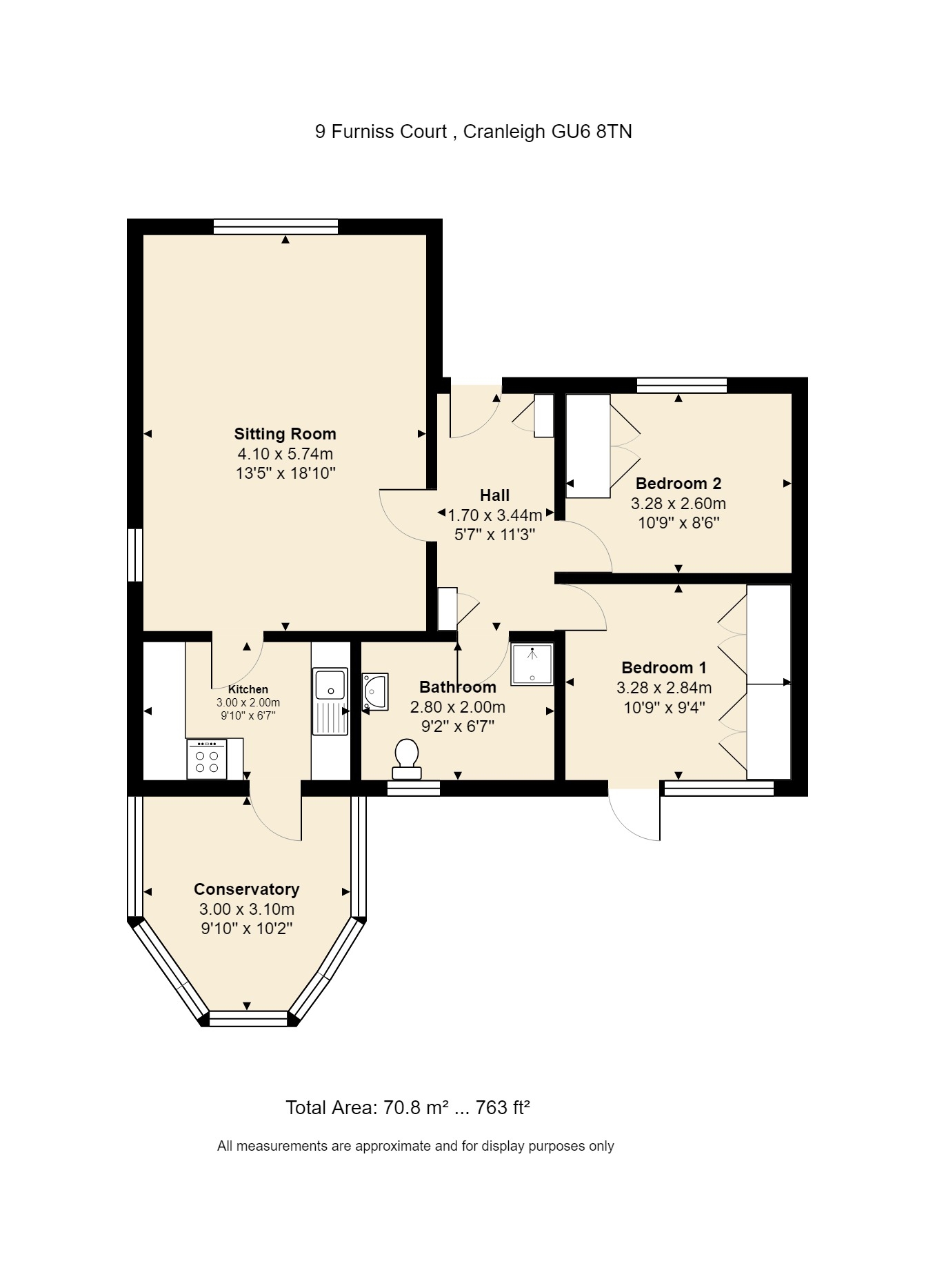 9 Furniss Court Floorplan