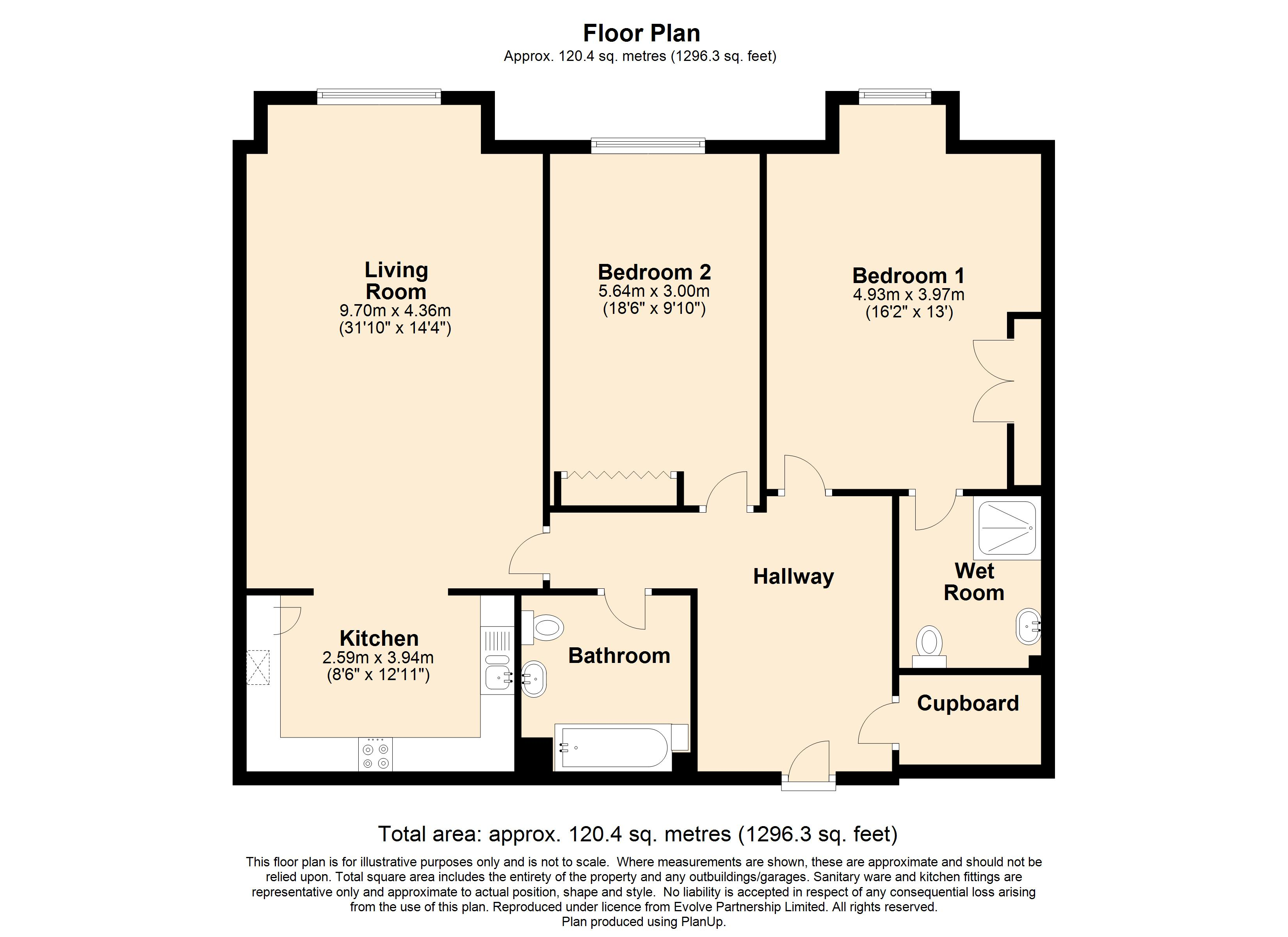 16 Elmbridge Manor Floorplan