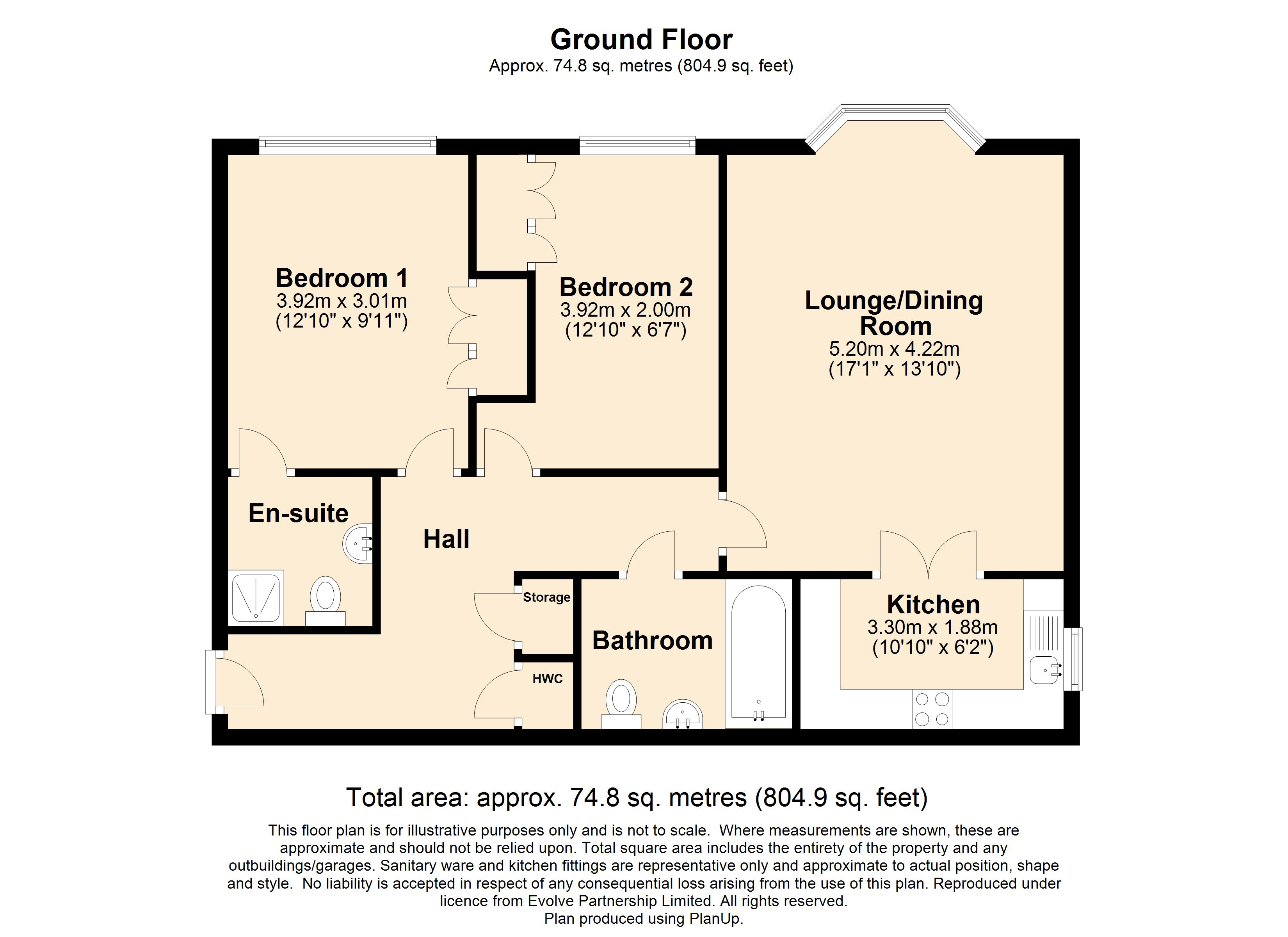 7 Frankton House Floorplan