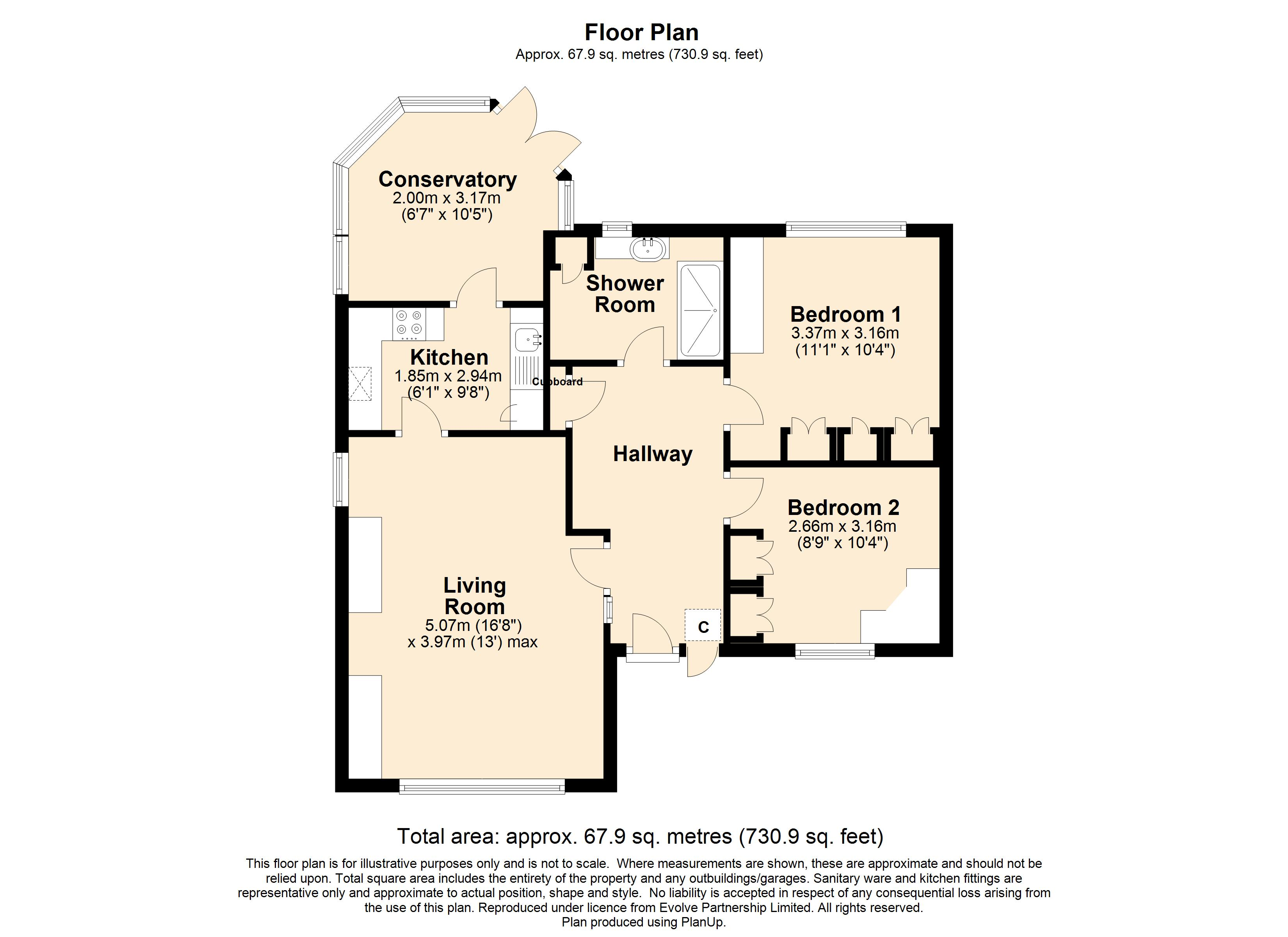 10 Furniss Court Floorplan