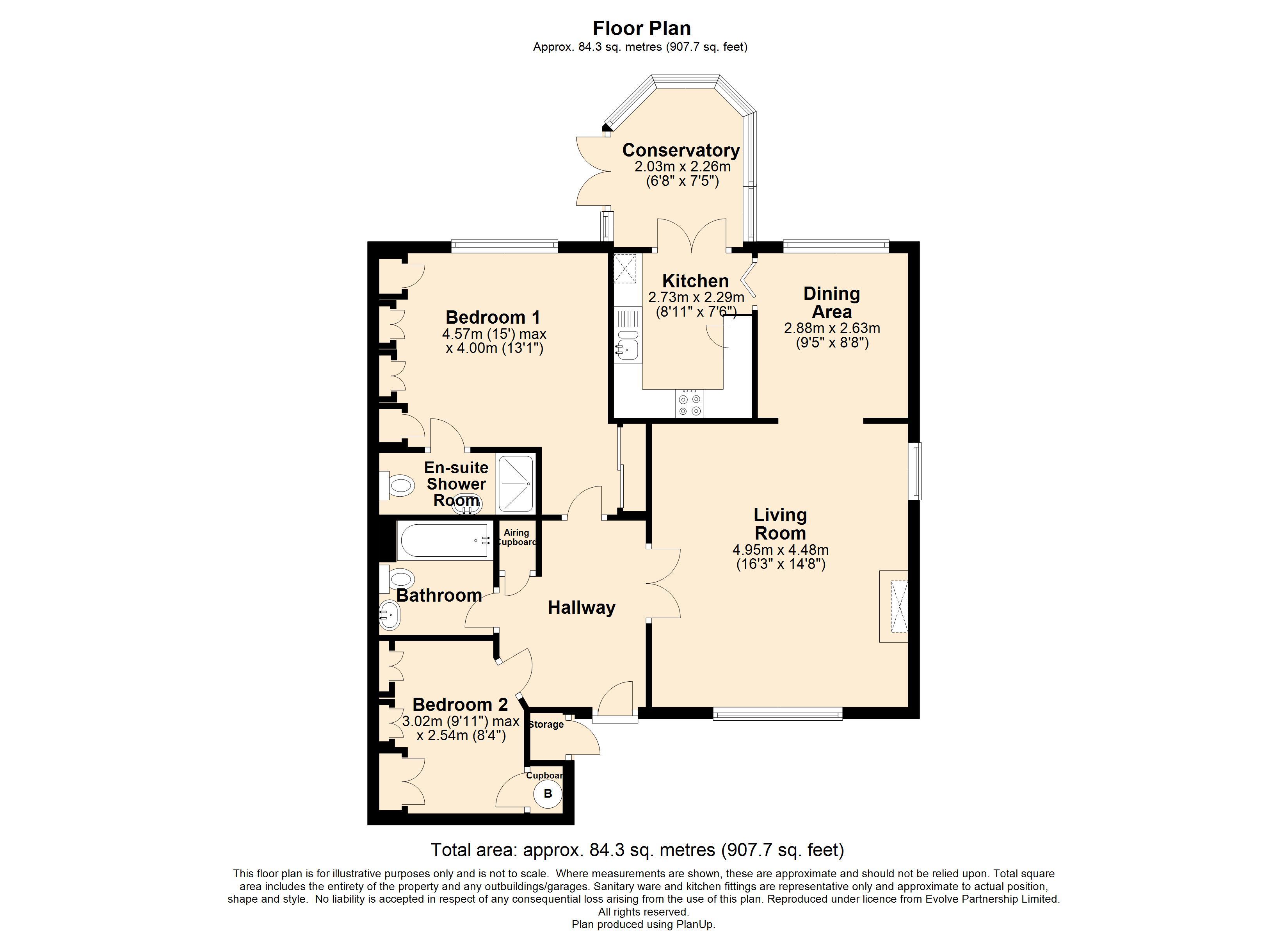 3 Theydon Court Floorplan