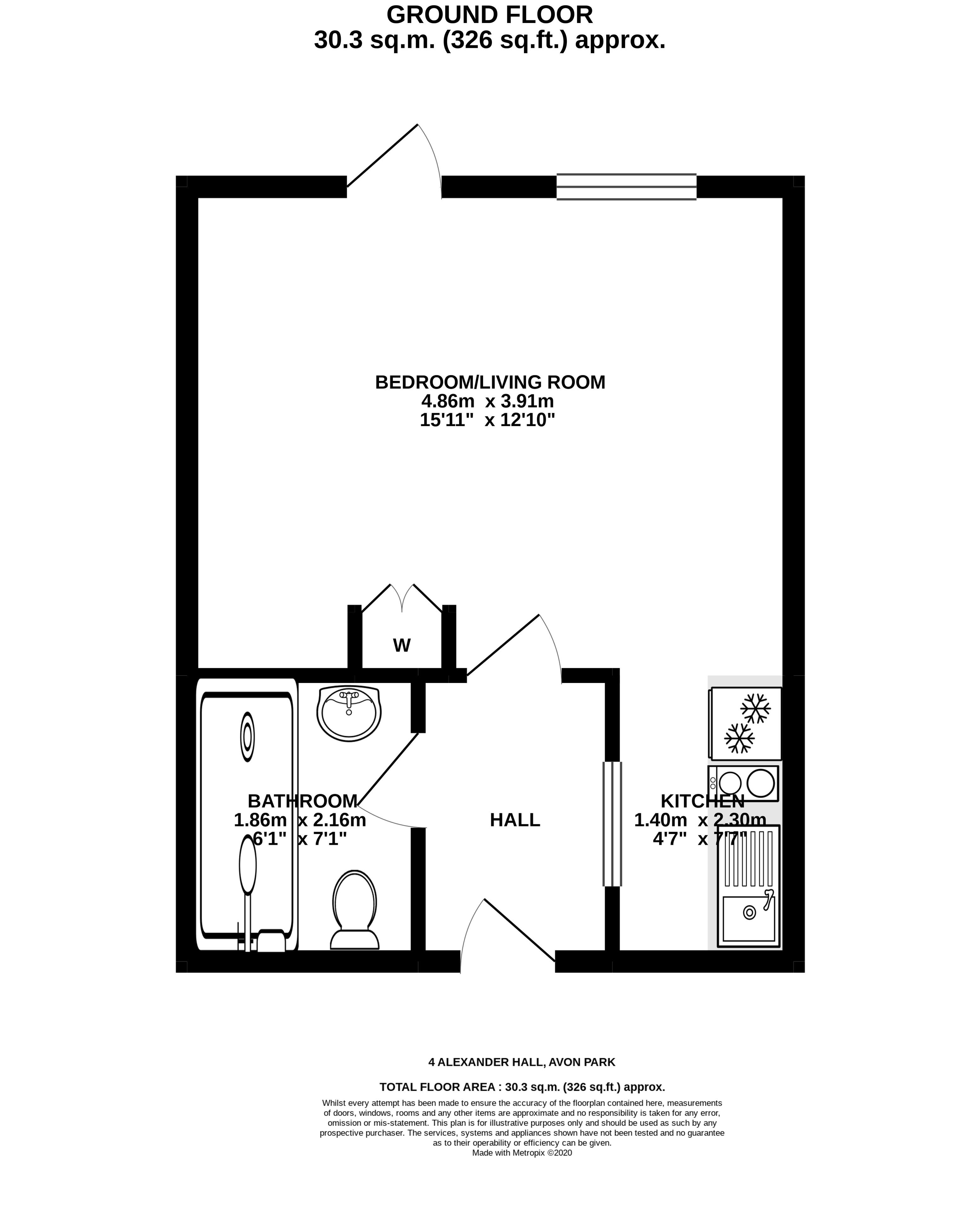 4 Alexander Hall Floorplan