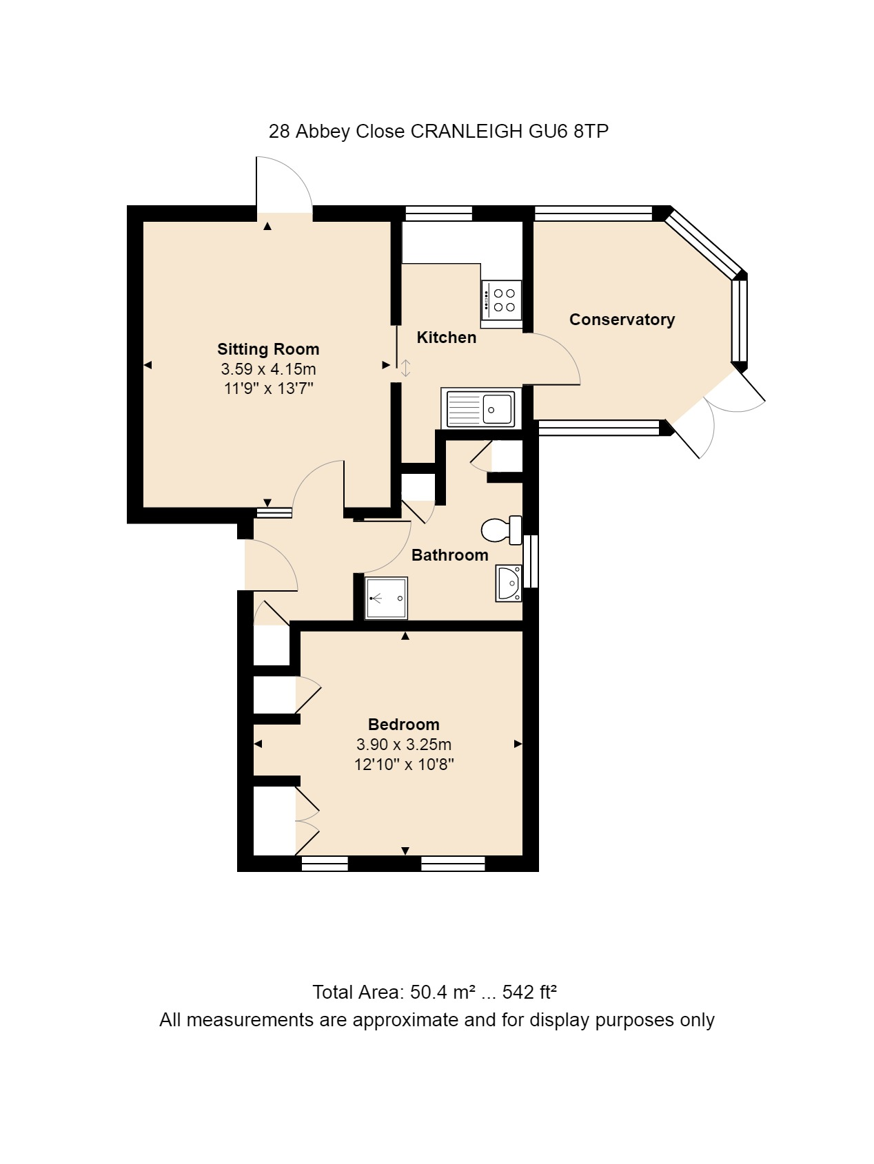 28 Abbey Close Floorplan