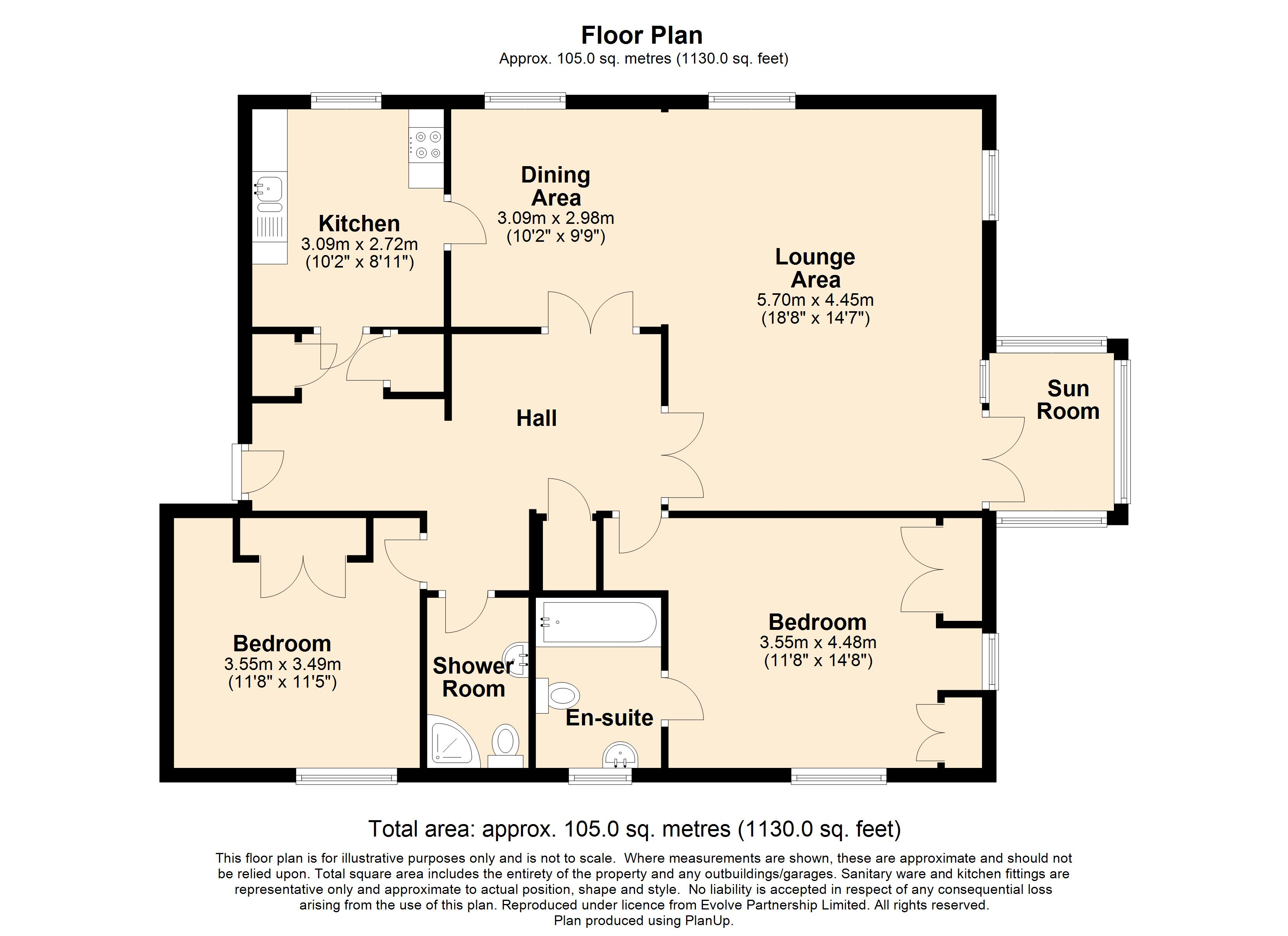 31 The Priory Floorplan