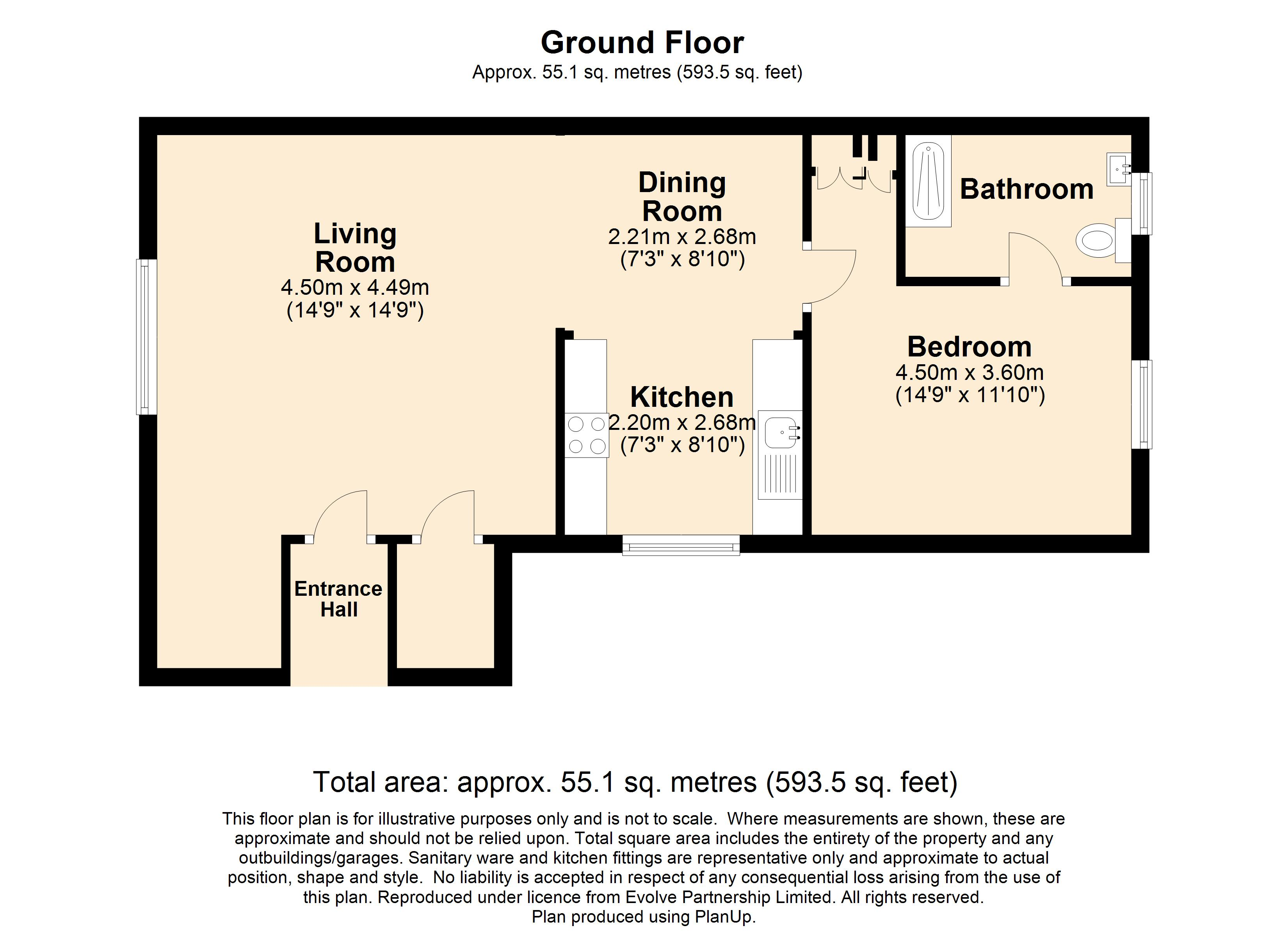 12 The Priory Floorplan
