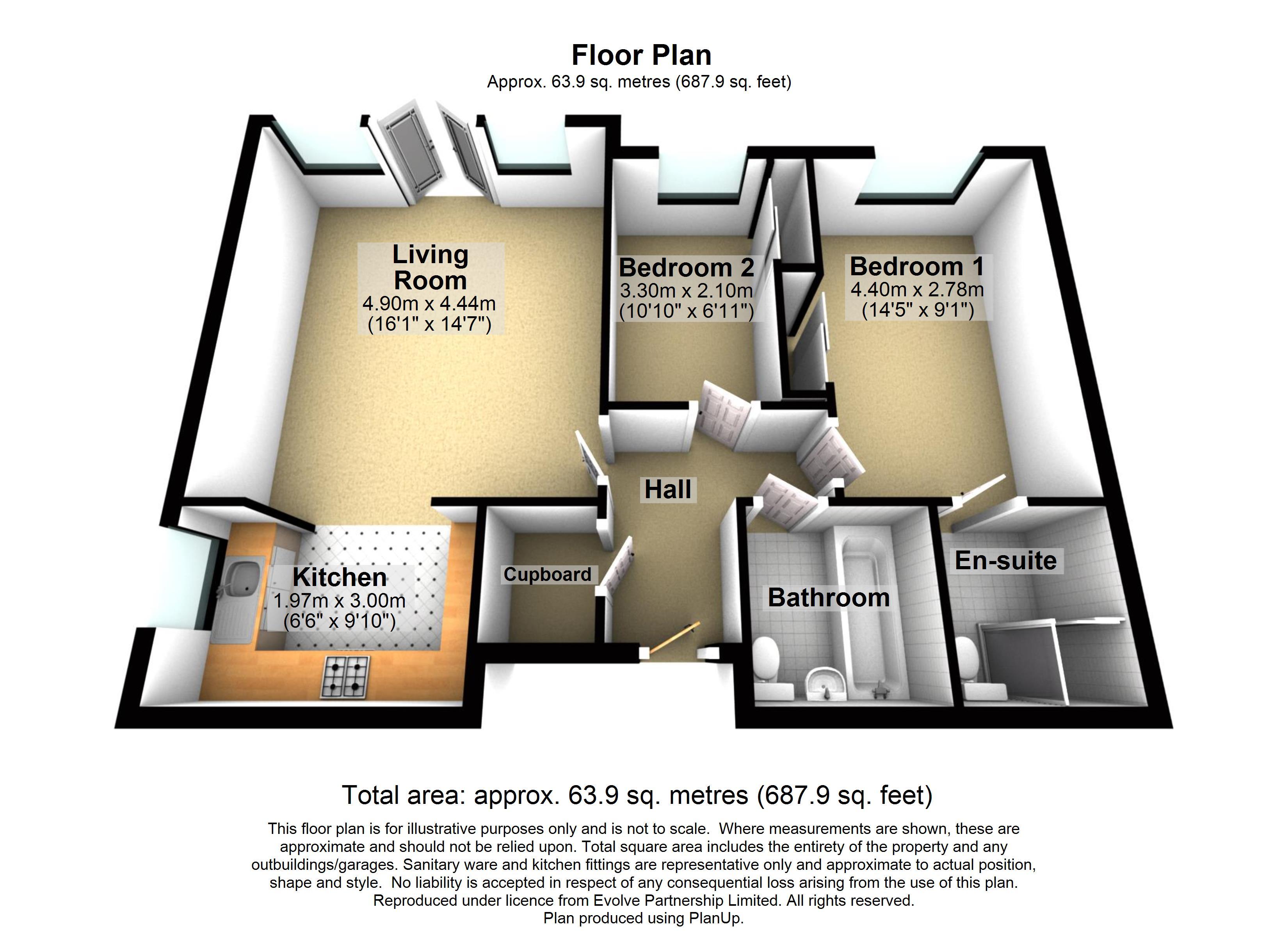 4 Wildwood Court Floorplan