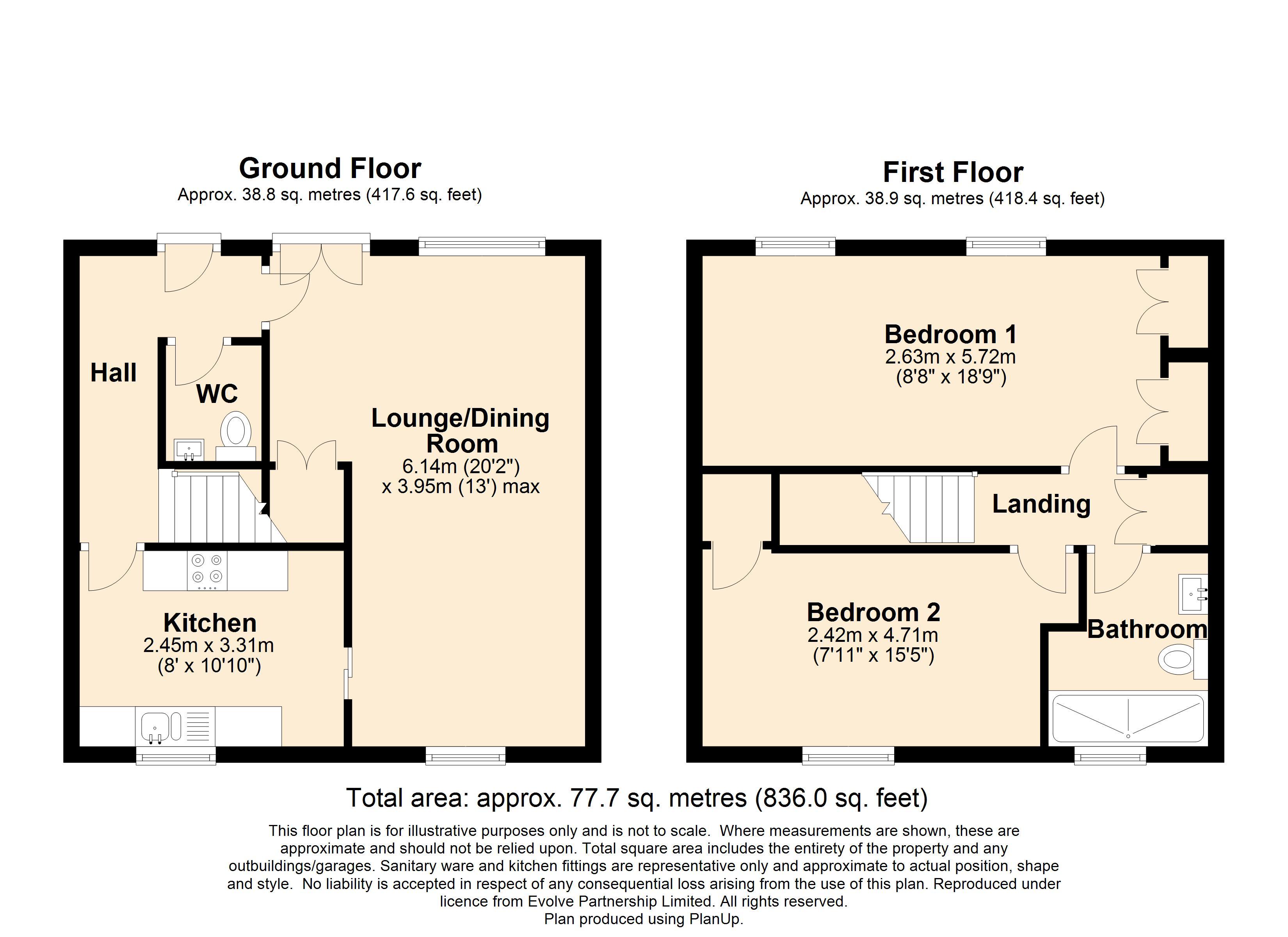 21 The Priory Floorplan