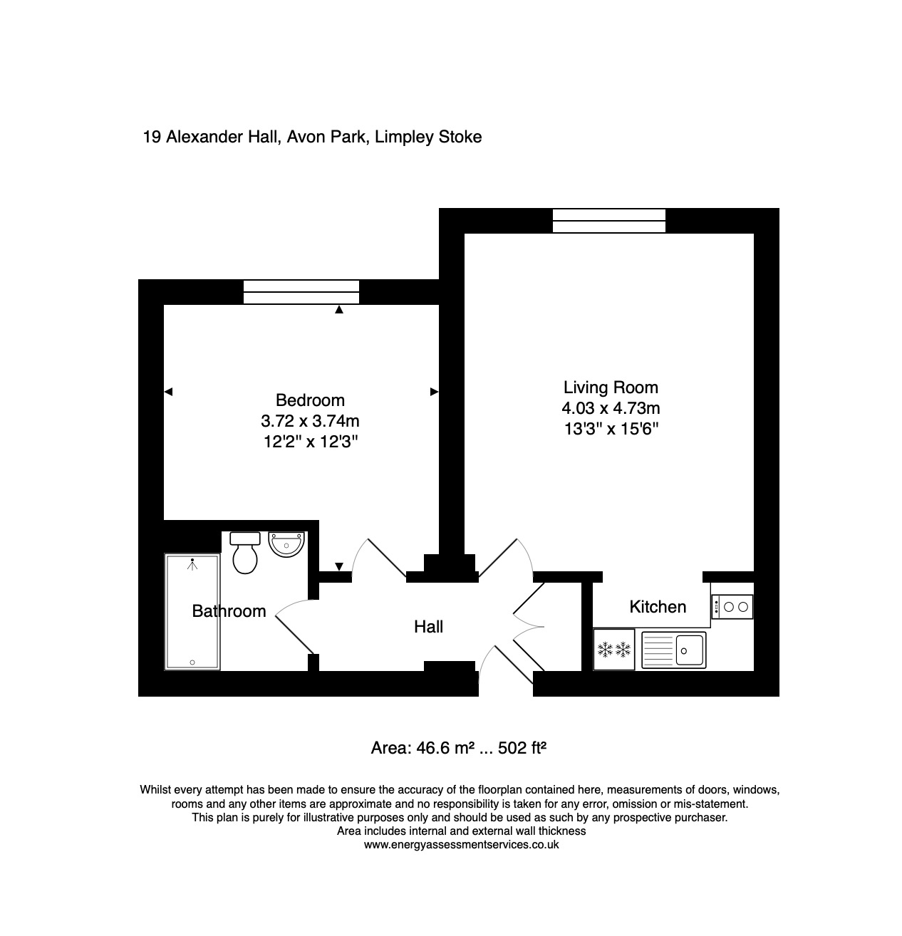 19 Alexander Hall Floorplan