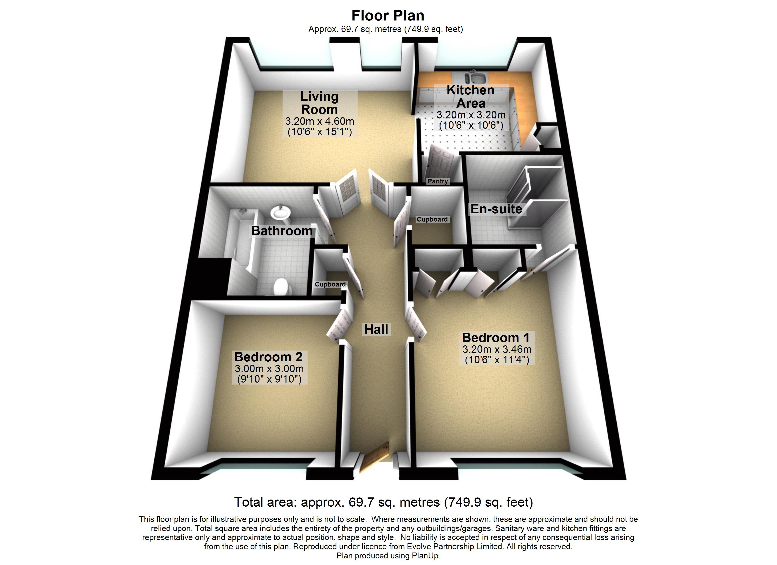 16 The Fairways Floorplan
