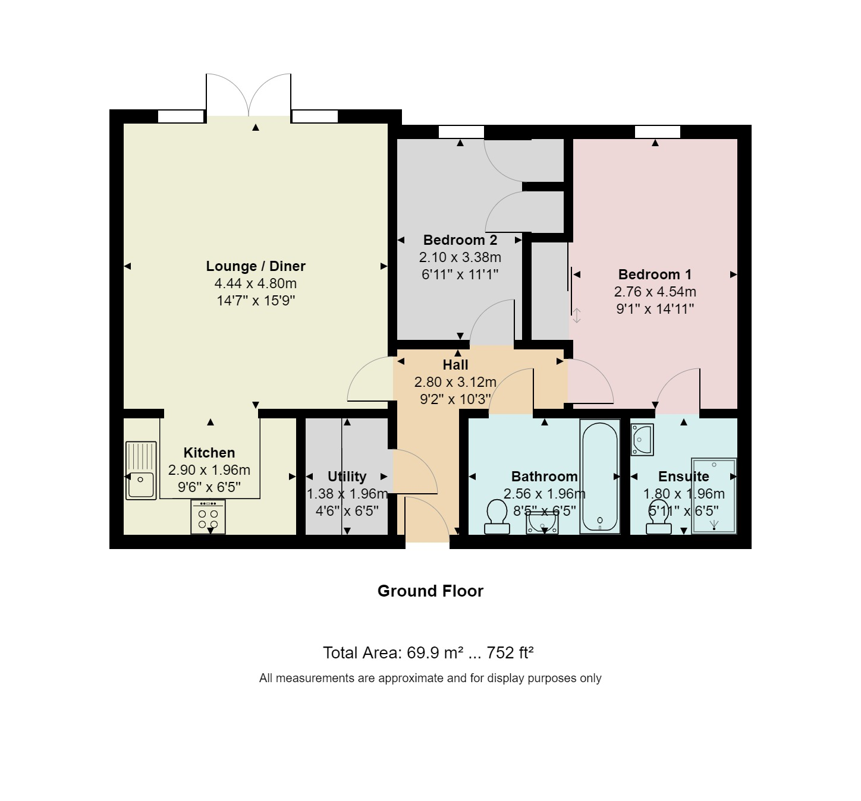 8 Homewood Court Floorplan