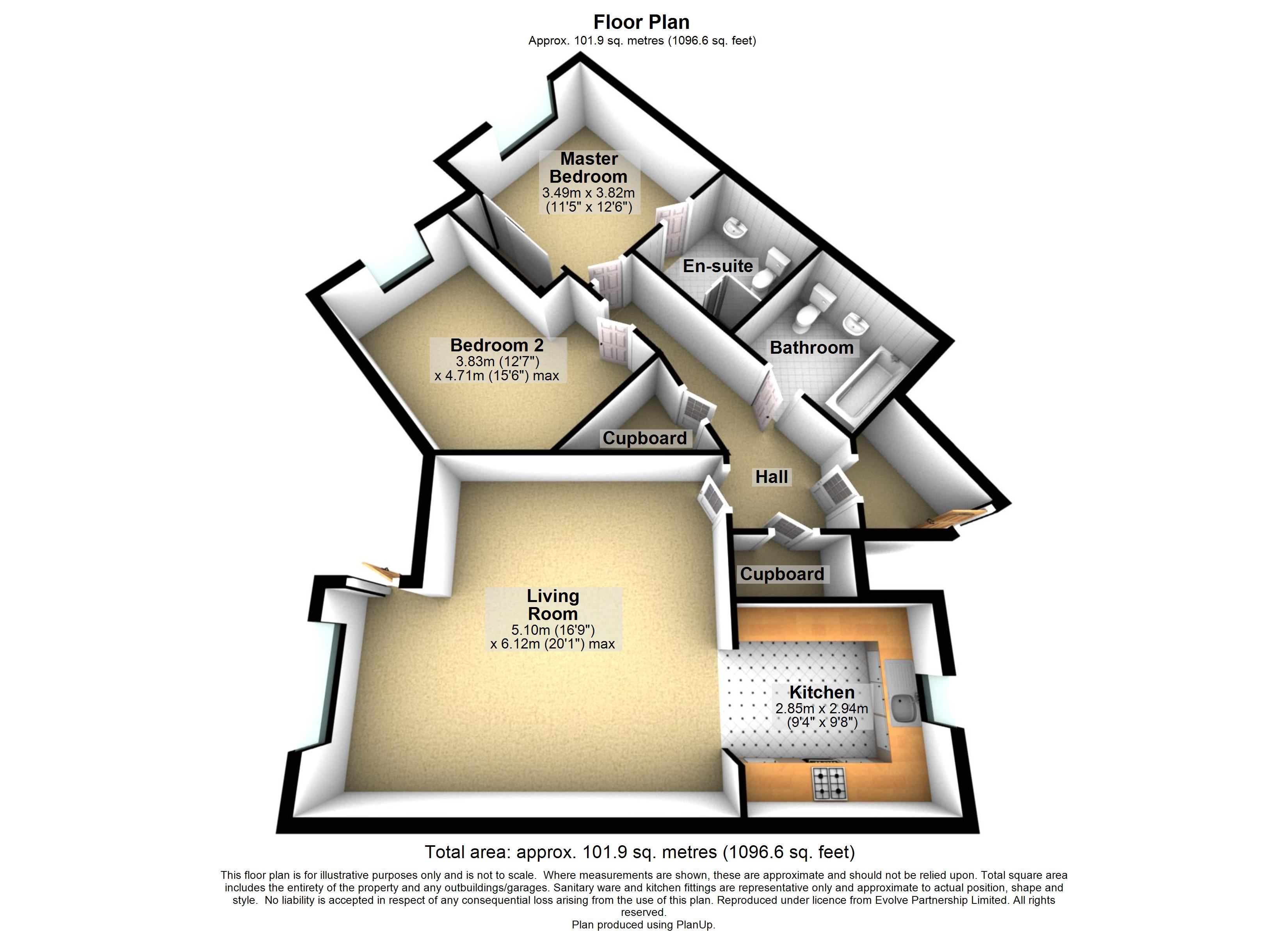 3 Bush Davies Floorplan
