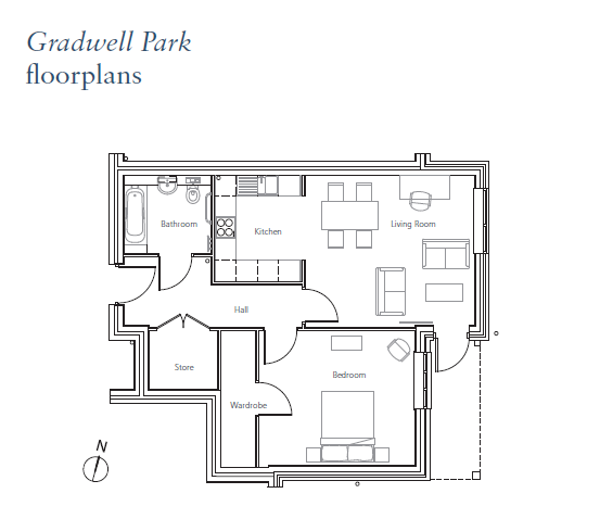 Plot 42, Flat 2 Chase House Floorplan