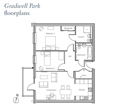 Plot 51, Flat 4 Chase House Floorplan