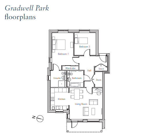 Plot 9, Flat 4 Furlong Place Floorplan
